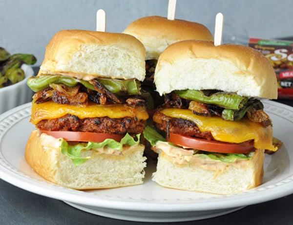 Image of  Vegetarian Sliders