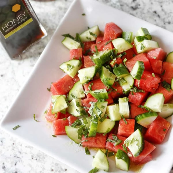 Image ofWATERMELON & CUCUMBER SALAD
