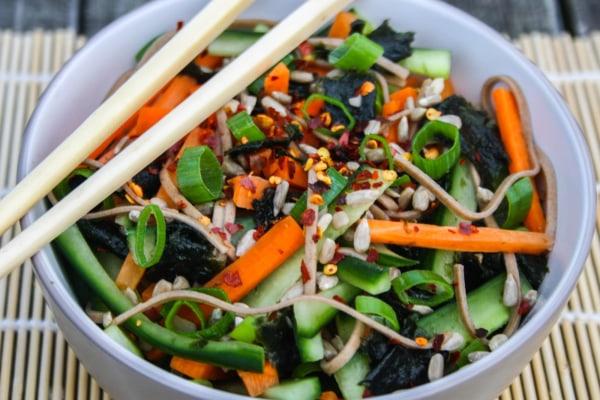 Image of Soba Seaweed Salad