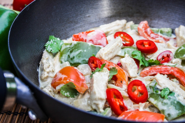 Image of Coconut Chicken Curry
