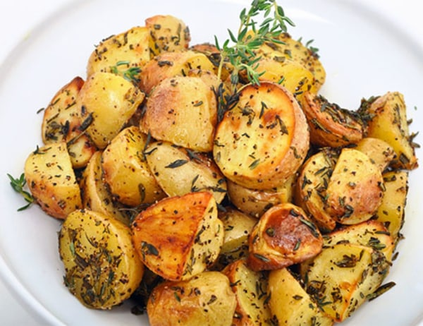 Image ofRoasted Baby Dutch Yellow Potatoes with Fresh Herbs