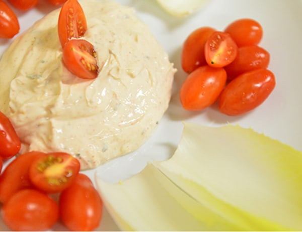 Image ofCreamy Oregano Dip with Vegetables