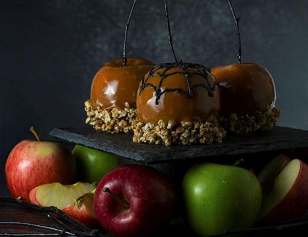 Image of Creepy Caramel Apples