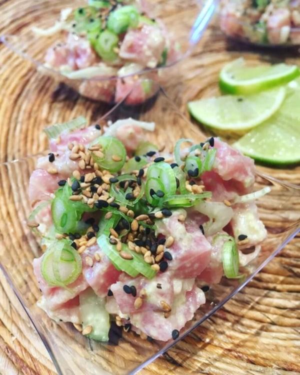 Image of Sesame Sambal Tuna Tartare