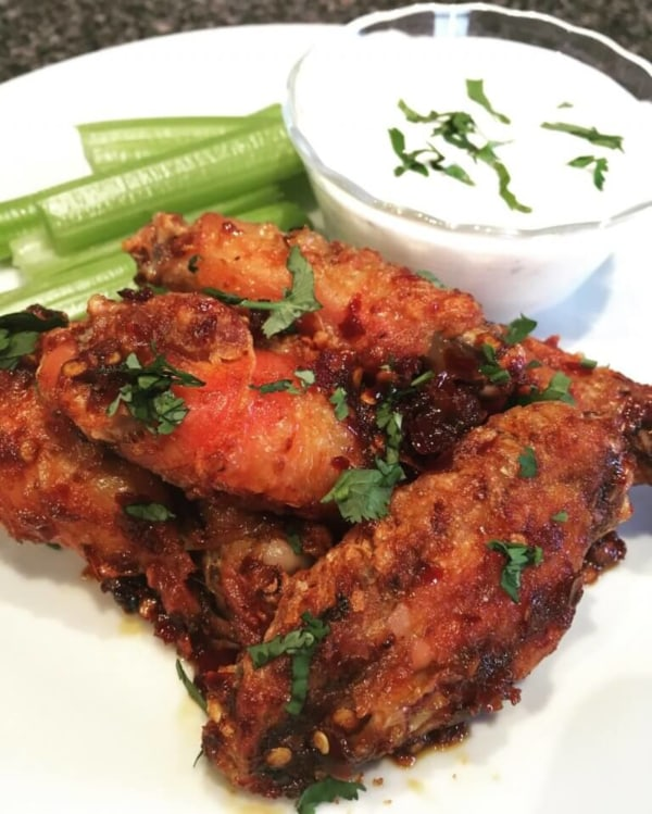 Image of Spicy Sambal Wings: A Malaysian Take on an American Classic