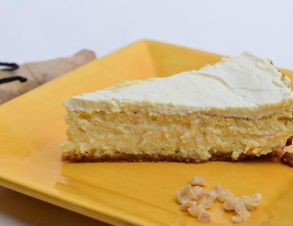 Image of Crystallized Ginger Cheesecake