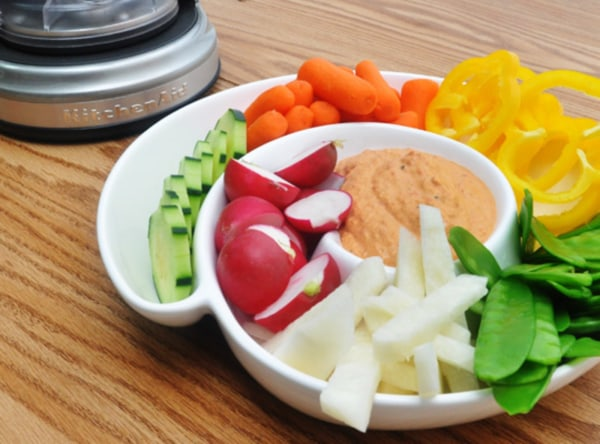 Image ofRoasted Red Pepper Hummus