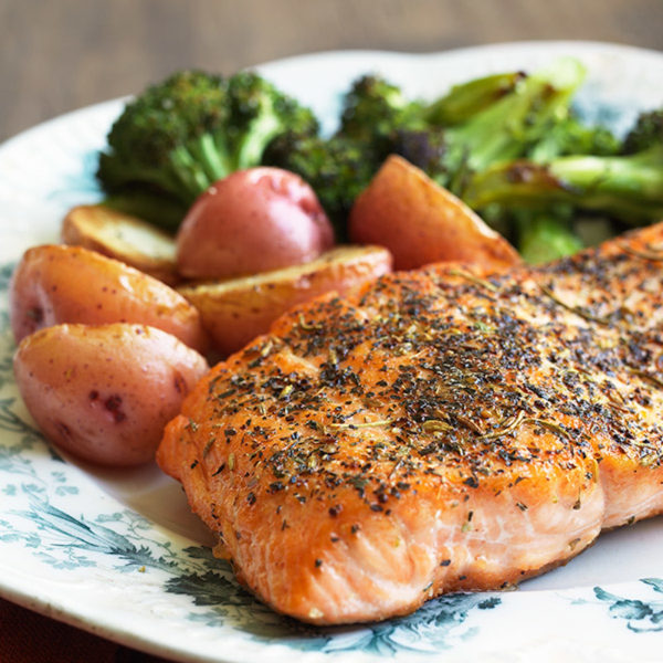 Image ofSimple Herbed Salmon
