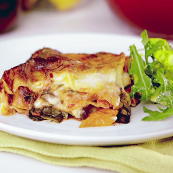 Image of Butternut Squash and Spinach Lasagne