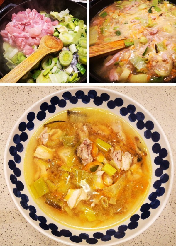 Image of Cock-a-Leekie Soup - The Cheats Version