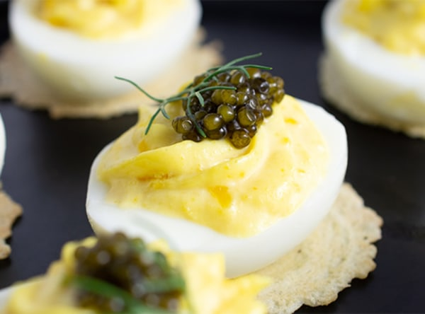 Image ofDeviled Eggs with Caviar