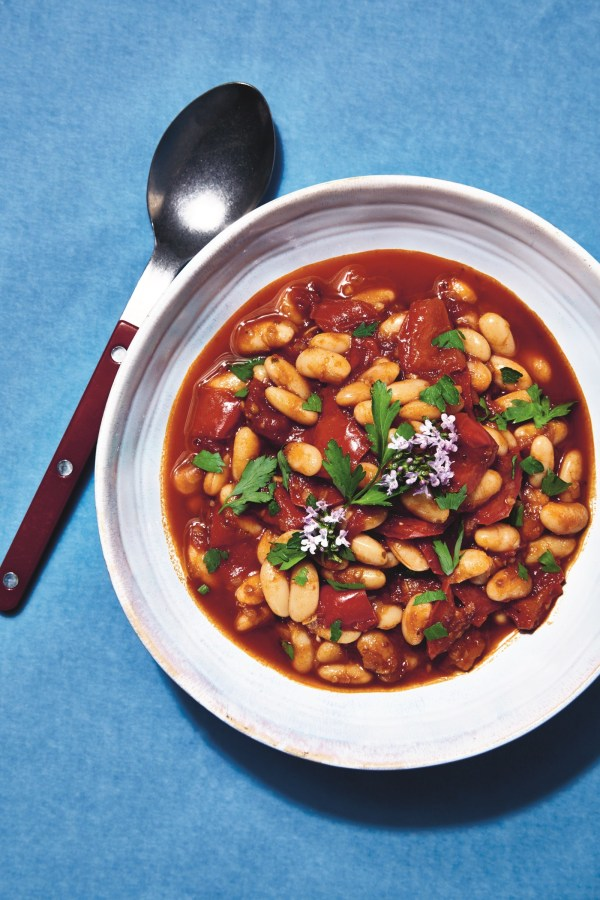 Image of Paprika Bean Stew with Red Peppers