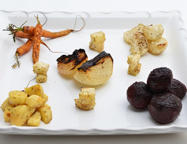 Image of Roasted Root Vegetables with Herbs