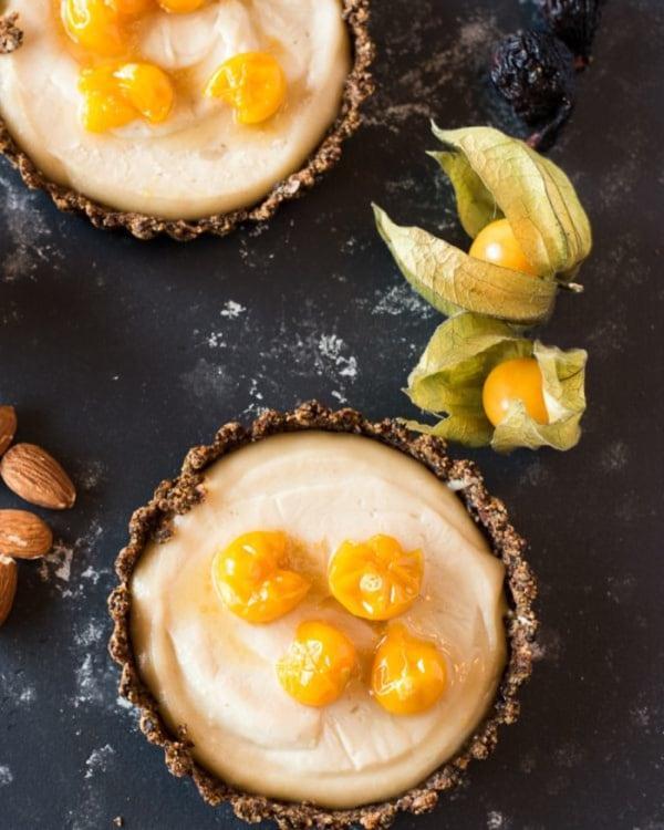 Image of  Vegan Goldenberry Tarts