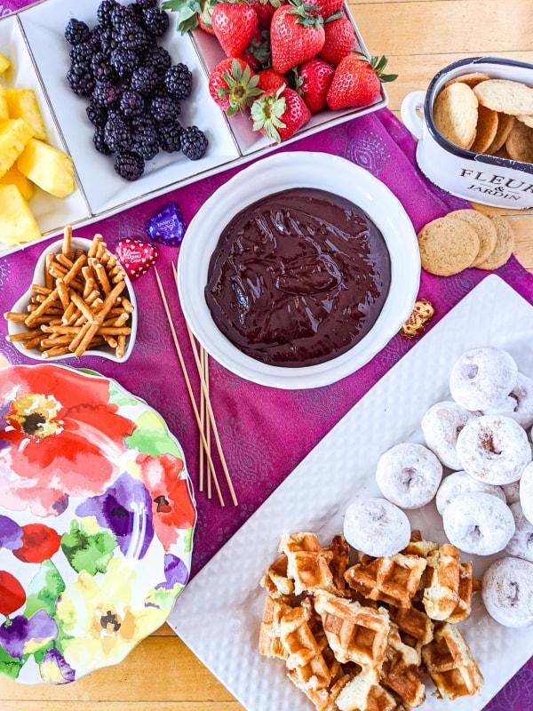 Image of Chocolate Fondue