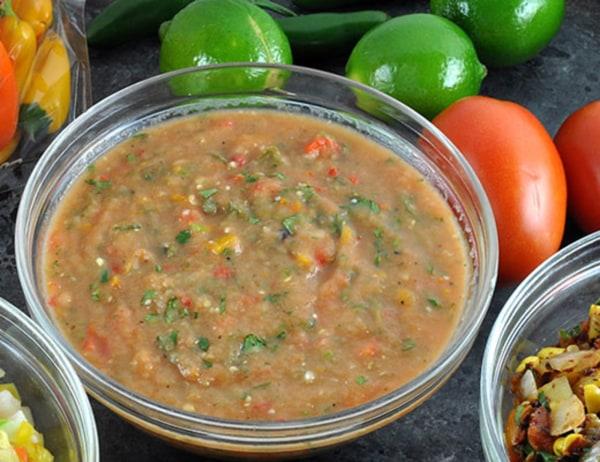 Image of Roasted Veggie Sweet Salsa
