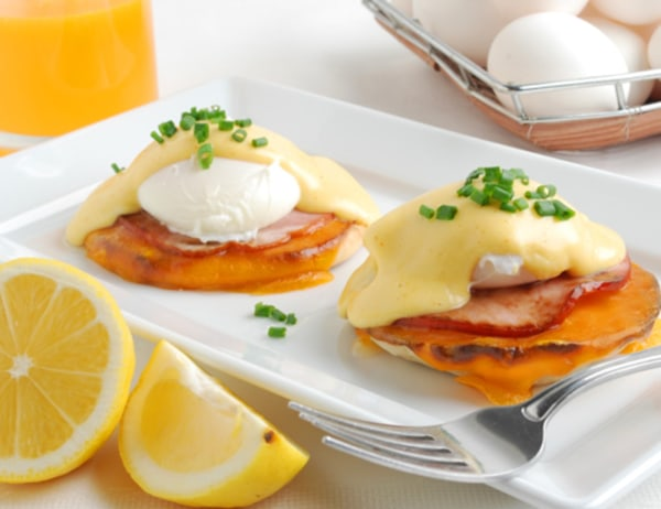 Image of Eggs Benedict with Chipotle Hollandaise