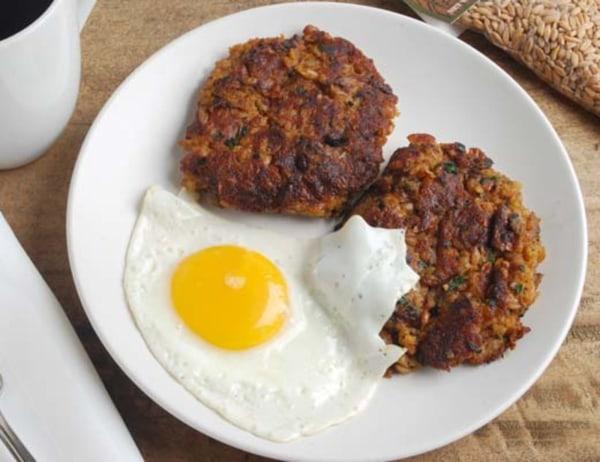Image of Farro Breakfast Patties