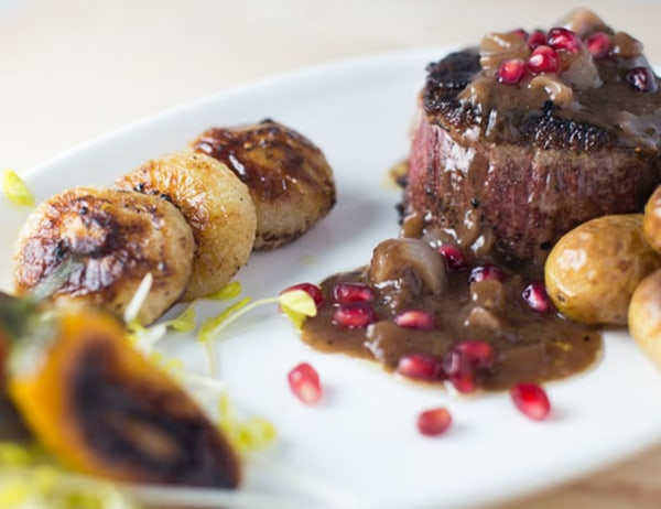 Image ofFilet Mignon with Caramelized Cipolline Onion Pan Sauce