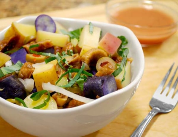 Image ofFingerling Potato Fig and Tarragon Salad