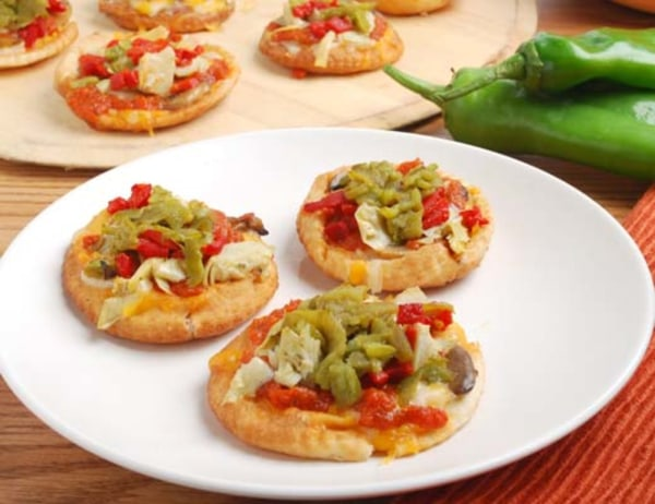Image of Flash Fried Pizza Nibbles