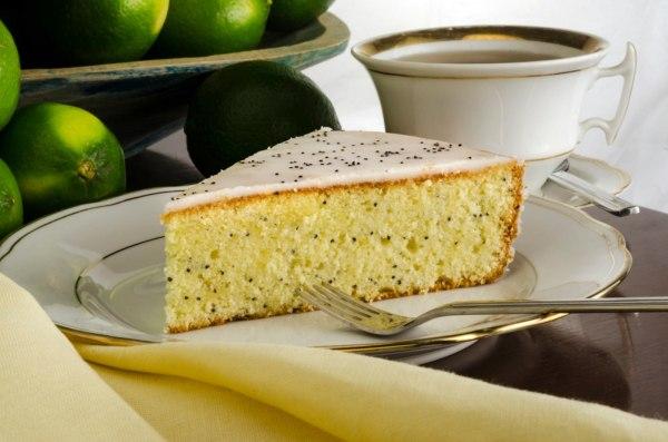 Image of Keto Lemon Poppy Seed Cake