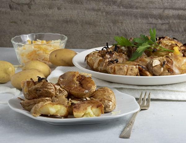 Image of  Twice Fried Cheesy Baby Dutch Yellow® Potato Tots