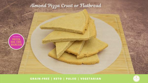 Image ofAlmond Pizza Crust or Flatbread