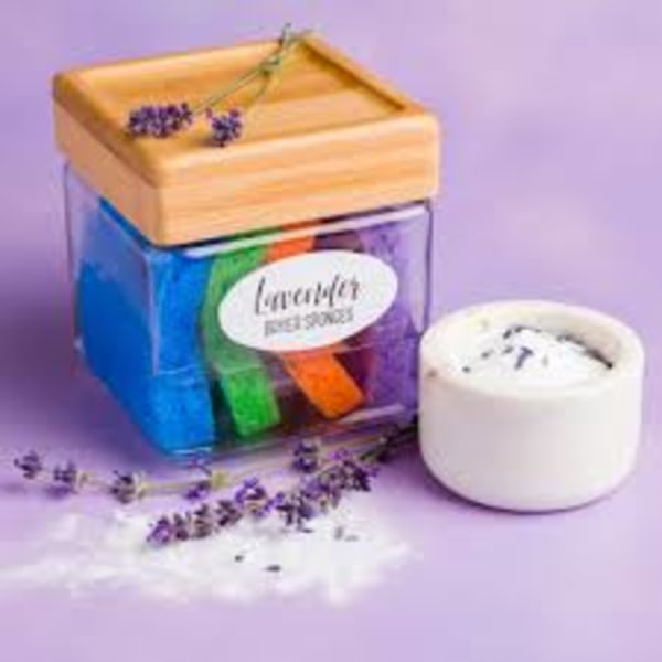 Image of Chemical & Toxic Free Lavender Dryer Sponges - DIY Styley!!