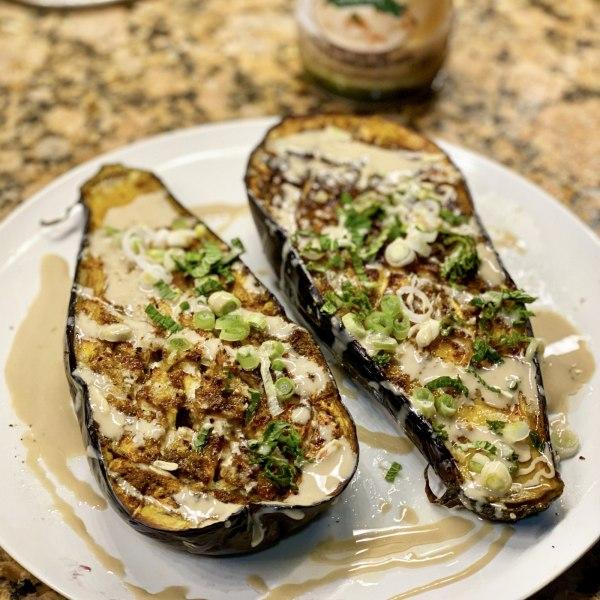 Image of Hawayej Roasted Eggplant