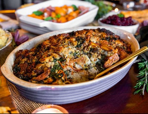 Image ofRye, Kale, Mushroom and Pumpkin Seed Stuffing