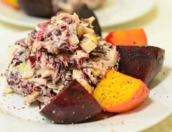 Image of Salad of Organic Beets