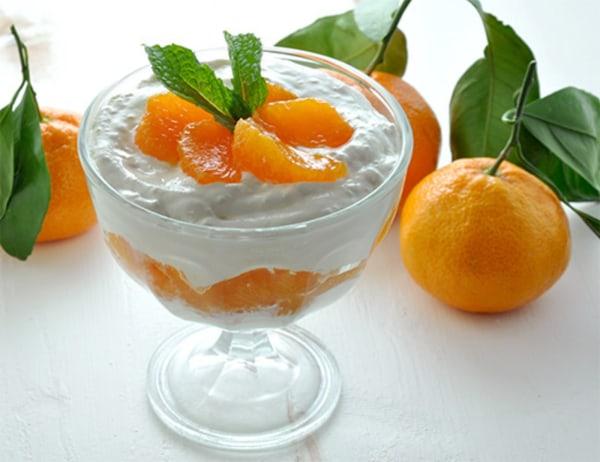 Image of Satsuma Tangerine Tofu Mousse