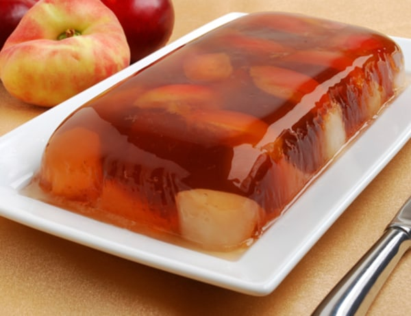 Image ofSaturn Peaches and Plums with Champagne Gelatin