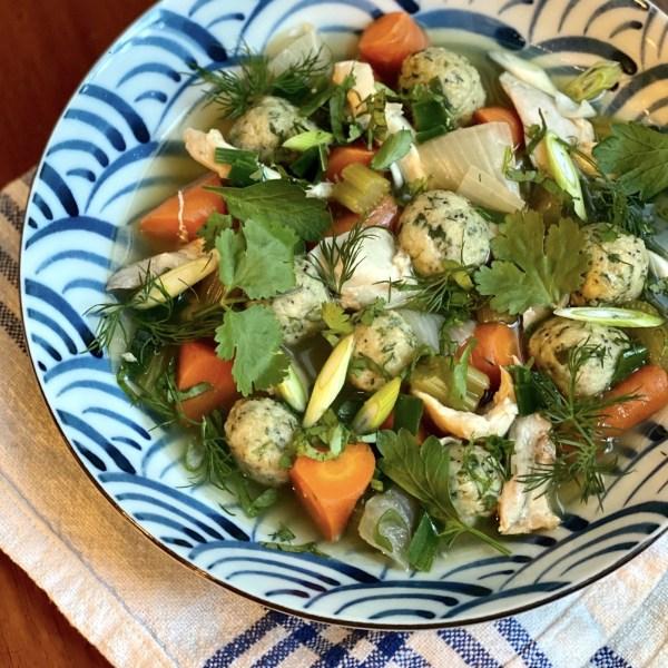 Image of Passover Chicken & Dumplings