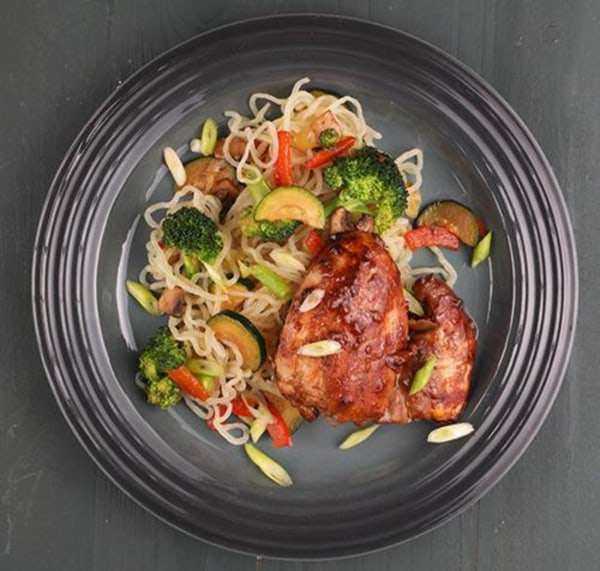 Image of Teriyaki Chicken With Noodles