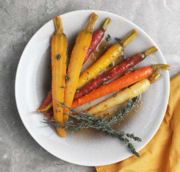 Image of Tangerine And Honey Glazed Carrots