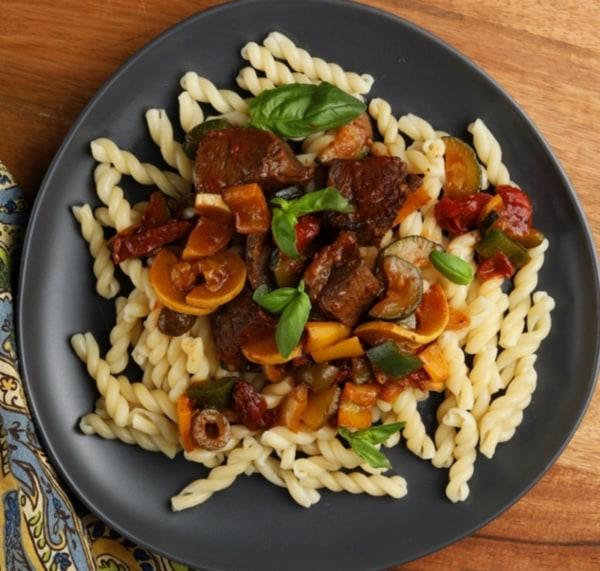 Image of Mediterranean Beef Pasta