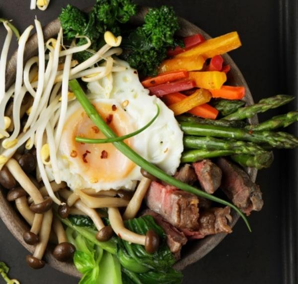 Image of Korean Breakfast Bowl with Amaranth