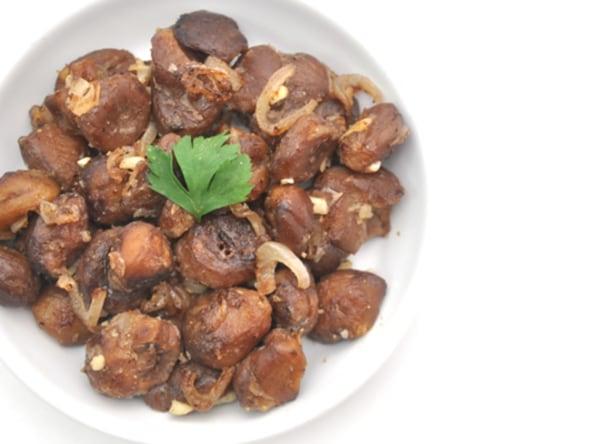 Image of Sautéed Chestnut Bites