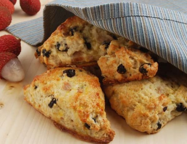 Image of Dried Cranberry and Blueberry Scones