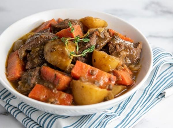 Image of Irish Lentil Guinness Stew