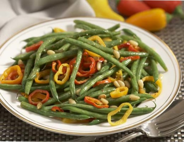 Image ofSautéed Green Beans and Peppers