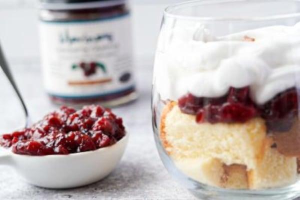 Image ofMarina's Cranberry Chutney Trifles