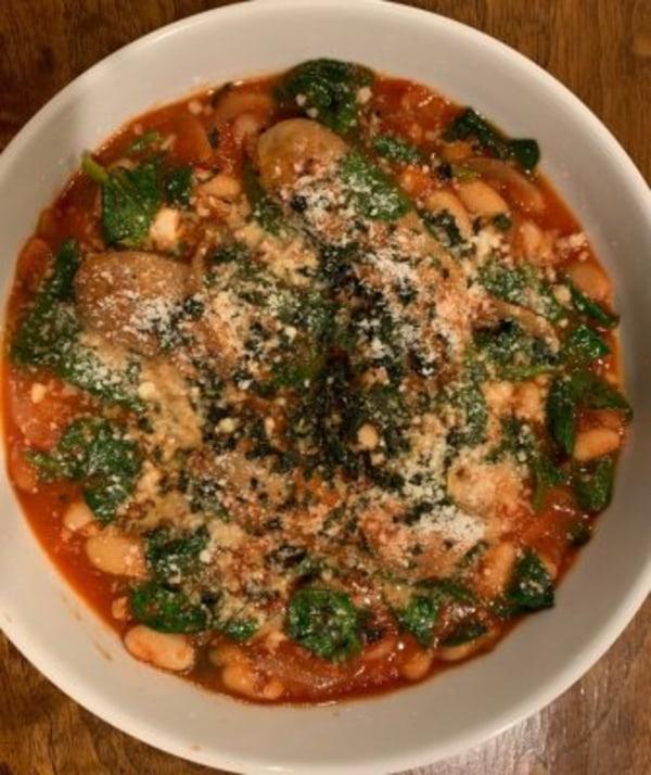 Image ofWhite Bean-Sausage Stew