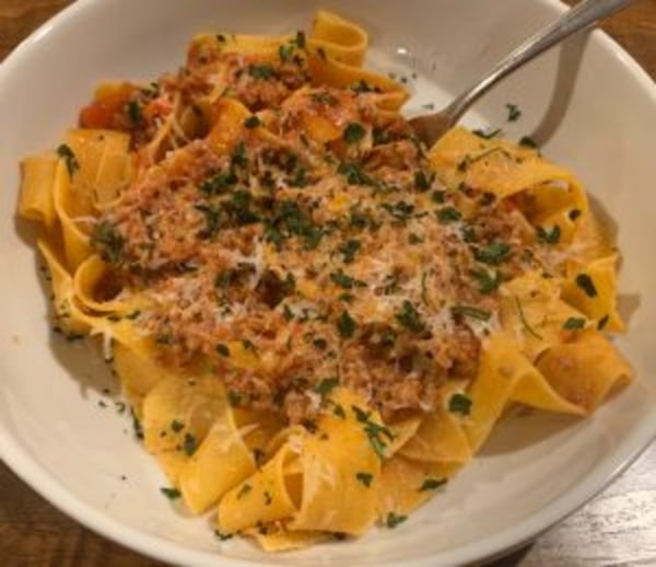 Image ofPork Ragout with Pappardelle Pasta