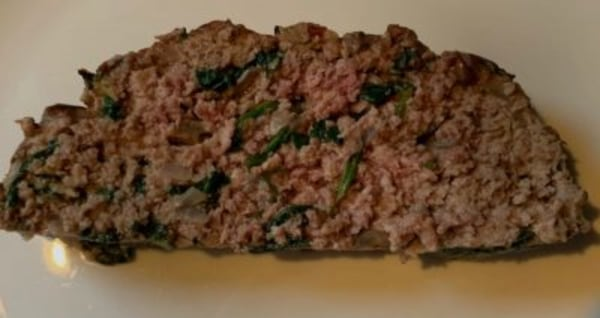 Image ofDelicious Spinach Meatloaf