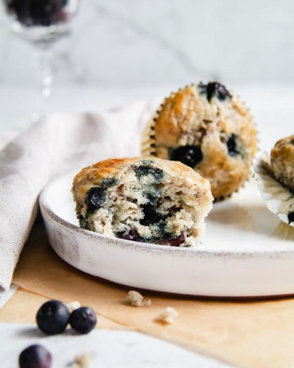 Healthy-Banana-Blueberry-Honey-Gluten-Free-Muffins-Smor-Kitchen-By-Jaharn-Quinn