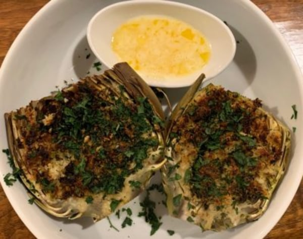 Image of The Most Delicious Stuffed Artichokes