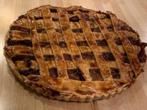 Image ofApple Cranberry Chutney Tart